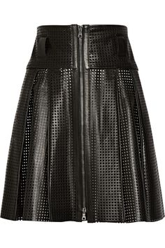 Proenza Schouler perforated leather skirt (70% off)