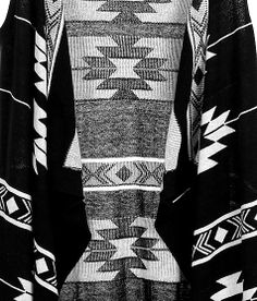 """Daytrip Southwestern Print Sweater Vest"" www.buckle.com"