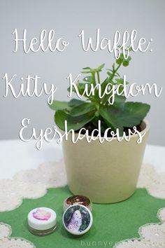 hello waffle kitty kingdom lipsticks lineup
