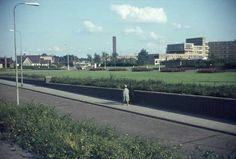 1968. Rechts het Prinses Irene Ziekenhuis, nu Preston Palace.