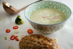 Lekker, makkelijk en gezond: broccoli soep, maar dan met een Aziatisch tintje.