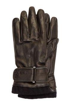 HauteLook | Emporio Armani Sportswear: Leather Gloves