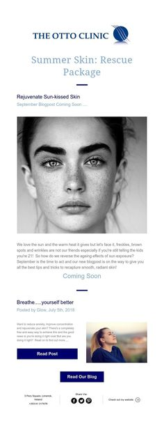 Summer Skin: Rescue Package Summer Skin, Facials, Freckles, Good Things, Face, Facial, The Face, Faces
