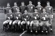Sport Football Liverpool 19651966 Liverpool Back row leftright Gordon Milne Gerry Byrne Tommy Lawrence Ron Yeats Chris Lawler Willie Stevenson Front. Liverpool Goalkeeper, Liverpool Football Club, Liverpool Fc, Retro Football Shirts, Vintage Football, Sport Football, Back Row, Team Photos, Fa Cup
