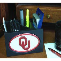 Fan Creations Collegiate Desktop Organizer - C0536_OKLAHOMA