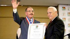 ADHA reconoce a Danilo Medina por aportes al sector agropecuario