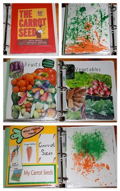 The Carrot Seed {Before FI♥AR} - Fruit Veggie collage