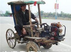 Homemade car: Woody