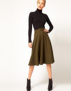 Time to suite up ladies with this vintage inspired military look