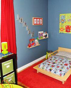 Julian's Robot Room | Project Nursery-- soo colorful