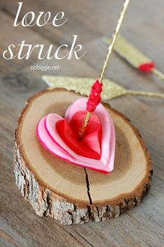 Creative And Beautiful Valentine Day Tree Craft Ideas With Tree Stump Crafts Nobiggie T
