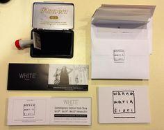 "Ready to send invitations... ""wanna maria fiori"" @ white milan 23. 24. 25. February 2013 via tortona 27 www.wannamariafiori.com"