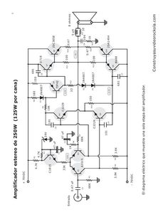 300W RMS Stereo Power Amplifier TDA7294 : Schematic, Part