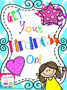 The perfect product to add some kindness in your classroom. Lots of ideas included. Pick one, or use them all.