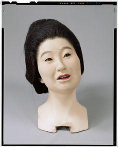 The head of the living doll _ Tokugawa era Hanami maid body (Shimada topknot standing position) Tokyo National Museum Image ID:C0076215 Column article number:I-1082 Author:Yasumoto Kamehachi Age:Meiji era _19c shape:Overall length 158.7