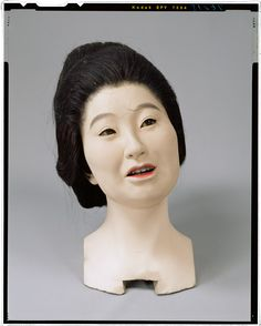 The head of the living doll _ Tokugawa era Hanami maid body (Shimada topknot standing position) Tokyo National Museum Image ID:	C0076215 Column article number:	I-1082 Author:	Yasumoto Kamehachi Age:	Meiji era _19c shape:	Overall length 158.7