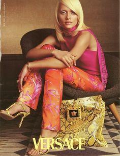 Amber Valletta, Versace - Lori Goldstein