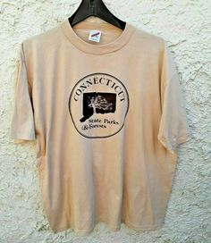 Connecticut State Parks And Forests Vintage Shirt XL Soft Single Stitch by Fchoicevintage on Etsy Vintage Shirts, Vintage Outfits, 80s Fashion, Vintage Fashion, College Shirts, Forests, Connecticut, Vintage Looks, State Parks