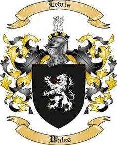 Lewis Family Coat of Arms from Wales
