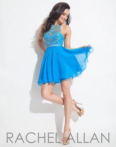 Rachel Allan 4013 Ocean Homecoming Dress
