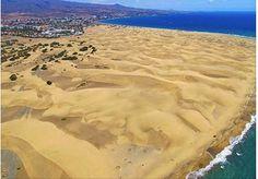 Playa de Maspalomas. Gran Canaria. Islas Canarias.