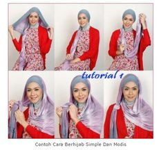 Tutorial Hijab By Mayra Hijab: Tutorial Berhijab Simple dan Modis
