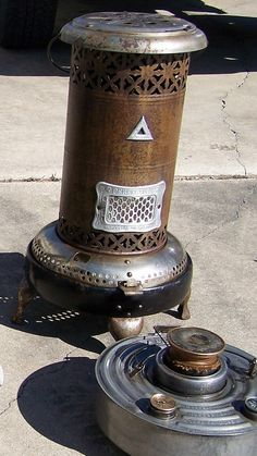 perfection model as found Coal Stove, Oil Heater, Kerosene Heater, Antique Stove, Parlour, Stoves, Dollhouses, Lamps, Projects To Try