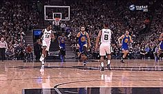 Steph Curry vs Spurs