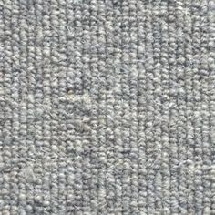Allfloors Blenheim 276 Nickel Plain 100% Wool Grey Loop Pile Carpet