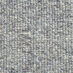Allfloors Blenheim 276 Nickel Plain 100% Wool Grey Loop Pile Carpet