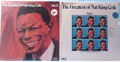 The Greatest Of Nat King Cole. All unsealed albums sold will be cleaned with a VPI Industrial Vinyl Record Cleaning Machine. Jazz Instruments, Nat King, Vintage Closet, King Cole, Lp, Christmas Gifts, Baseball Cards, Poster, Ebay