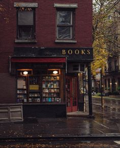 three lives and co bookstore, greenwich village, ny-- three lives and co bookstore, greenwich village, ny Cozy Rainy Day, Rainy Days, Rainy Night, Rainy Weather, Photographie New York, Cozy Aesthetic, Autumn Cozy, Autumn Diys, Happy Autumn