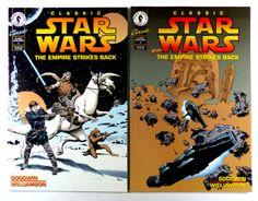 Classic-Star-Wars-The-Empirie-Strikes-Back-Full-Set-1-2-High-Grade-Dark-Horse