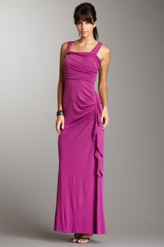 Shirred Gown