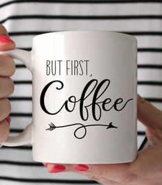 BUT FIRST, COFFEE! ☕☕☕