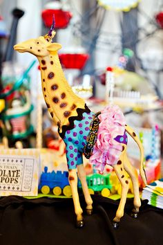 Bold & Eclectic Carnival Circus Joint Birthday Party
