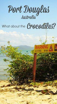 Port Douglas is a dream holiday destination, but what about the Crocodiles. The Port Douglas crocodiles . via /worldtravelfam//