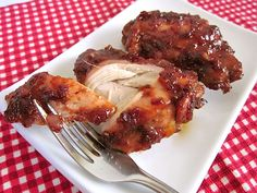 raspberry chipotle bbq chicken - Budget Bytes. Seriously the best chicken I've ever cooked.