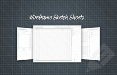 Medialoot - Free Wireframe Sketch Printable PDF Sheets