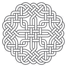 Celtic Knotwork Octagon2 by Peter Mulkers