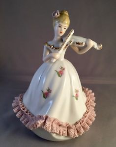 Lovely Violinist Music Box Turns to Classical Music | eBay