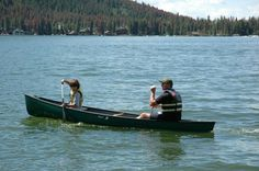 Canoe on Grand Lake at the west entrance to Rocky Mountain National Park . . . www.stayingrandlake.com