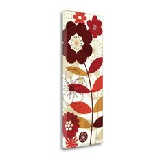 Tangletown Fine Art 'Floral Pop Panel I' by Michael Mullan Graphic Art on Wrapped Canvas Size: 3