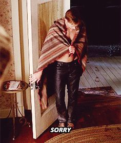 "Every time he adorably apologized. | The 36 Best Eric Northman Moments From ""True Blood"""