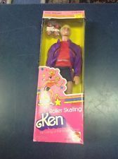 Barbie VINTAGE 1980 Super Star Era ROLLER SKATING KEN Doll w/BOX NOS New