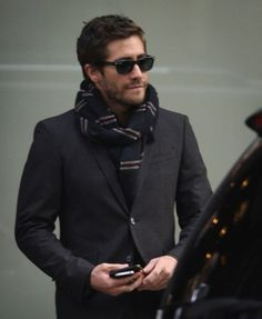 The scarf suit combo, thanks Jake.