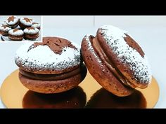 Dessert Recipes, Desserts, Bagel, Doughnut, Yummy Food, Cookies, Make It Yourself, Youtube, Cup Cakes