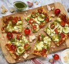 Deliciosa salsa pesto casera - Código Cocina Zucchini Enchiladas, Real Food Recipes, Healthy Recipes, Health Dinner, Barbacoa, Ravioli, Vegetable Pizza, Tapas, Healthy Life