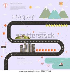 Flat design modern vector illustration icons set of urban landscape and city life. Building icon - stock vector