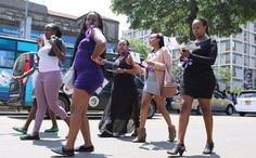 Call it whatever you will but reports have it that Kenyan women on Thursday held a serious demo ...